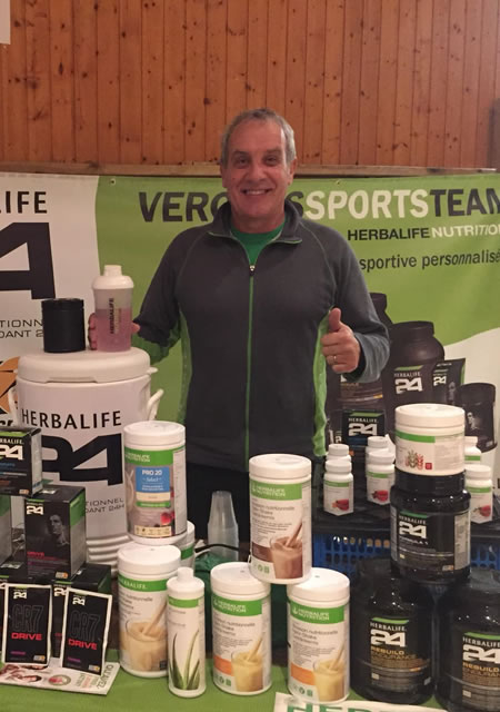 Vercors Sports team_Stand Herbalife nutrition_Patrice Blouzat