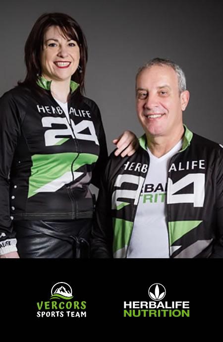 Vercors sports team - Une équipe_Anne-Marie & Patrice BLOUZAT_herbalife nutrition