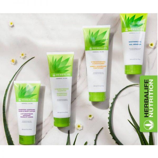 Vercors Sports Team - Gamme de produits Aloe Vera pour cheveux et corps - Herbalife Nutrition