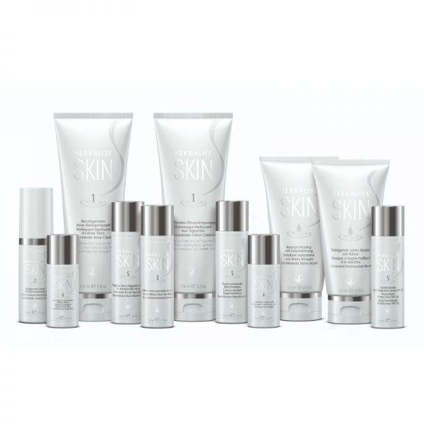 Vercors sports team - Produits de la gamme Skin _herbalife nutrition