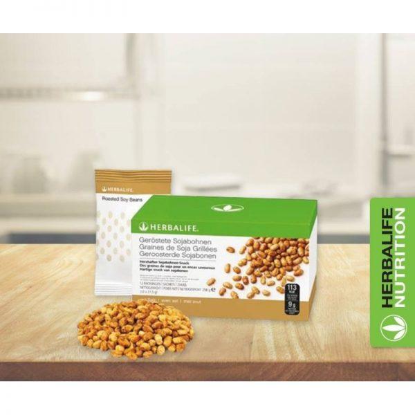 Vercors sports team - sachet de graines de soja grillées_herbalife nutrition