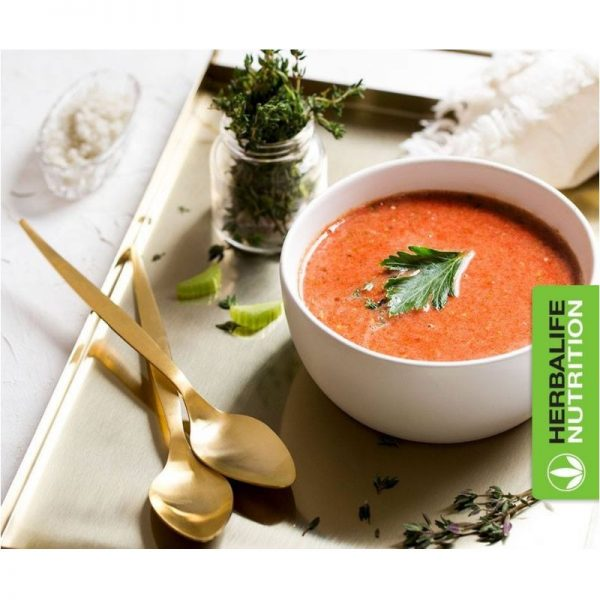 Vercors sports team - pub velouté soupe tomate_herbalife nutrition
