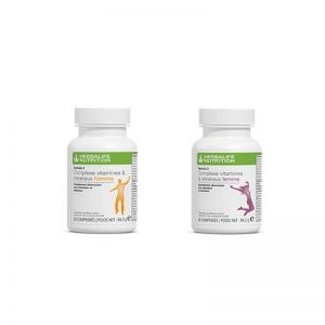 Vercors Sports Team - F2 vitamine Homme & Femme - Herbalife Nutrition