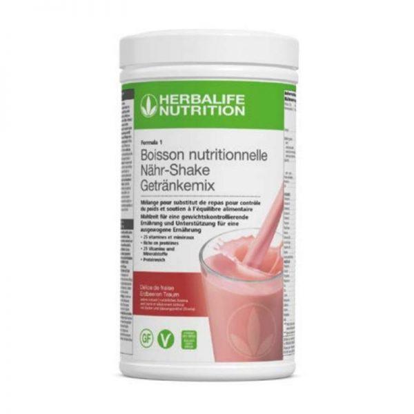 vercorssportsteam - Photo F1 Vegan & sans gluten Délice de fraise- Herbalife