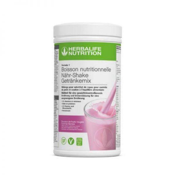 vercorssportsteam - Photo F1 Vegan & sans gluten Douceur de fruits rouges - Herbalife