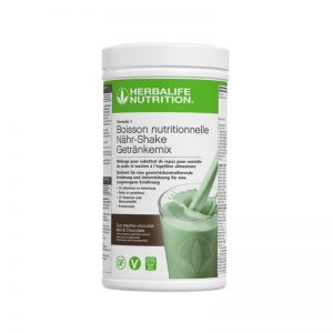 vercorssportsteam - Photo F1 Vegan & sans gluten Duo Menthe Chocolat - Herbalife