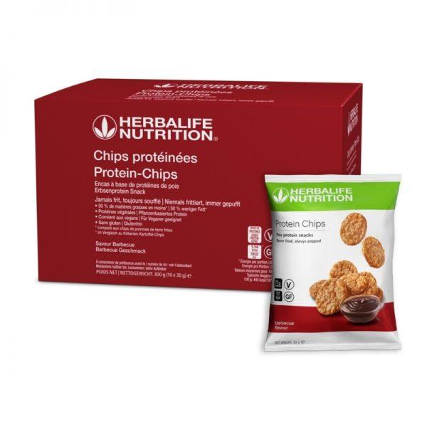 Chips protéinées - Goût barbecue - Herbalife - Vercors Sports Team
