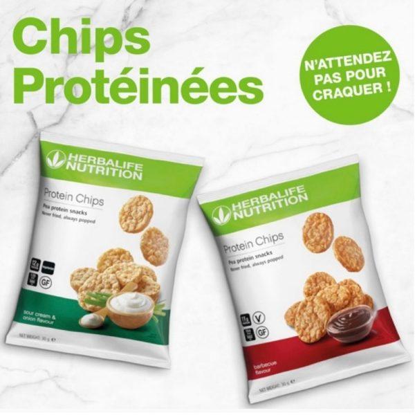 Chips protéinées - Goût barbecue et oignon-Herbalife - Vercors Sports Team (3)