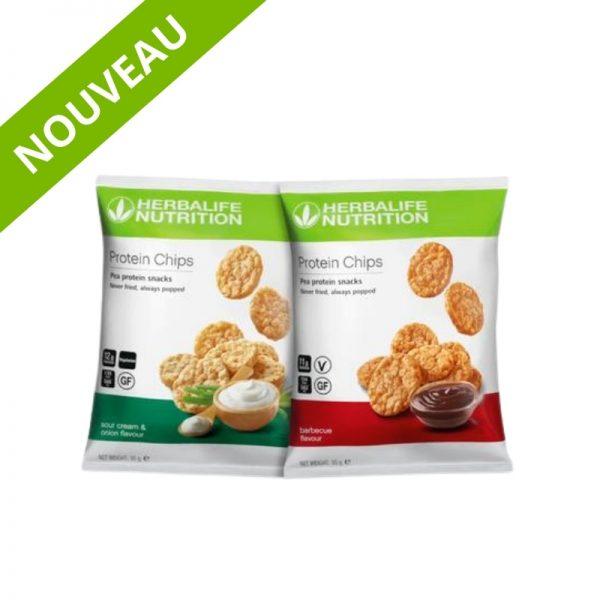Chips protéinées - Goût barbecue et oignon-Herbalife - Vercors Sports Team (4)