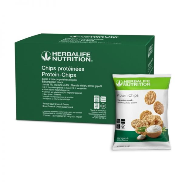 Chips protéinées - Goût oignon-Herbalife - Vercors Sports Team